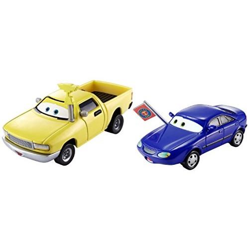Disney Pixar Cars Christina Wheeland & Jay W Die-cast Vehicle 2 pack