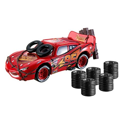 Disney Cars Daredevil McQueen Vehicle