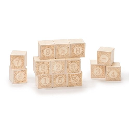 Uncle Goose Alphablanks Numbers Blocks – Made in The USA