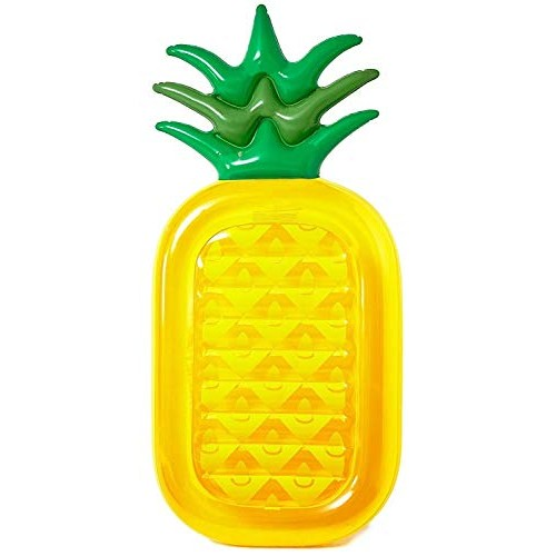 penban Inflatable Pineapple Pool Float Raft Summer Outdoor Swimming Pool Floatie Lounge Pool Loungers Decorations Water Toys for Adults /& Kids