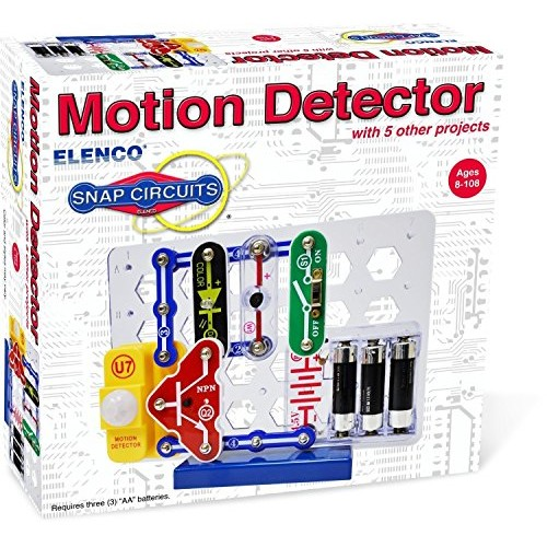 Snap Circuits Projecth Electronics Discovery Kit R Motion Detector Toys