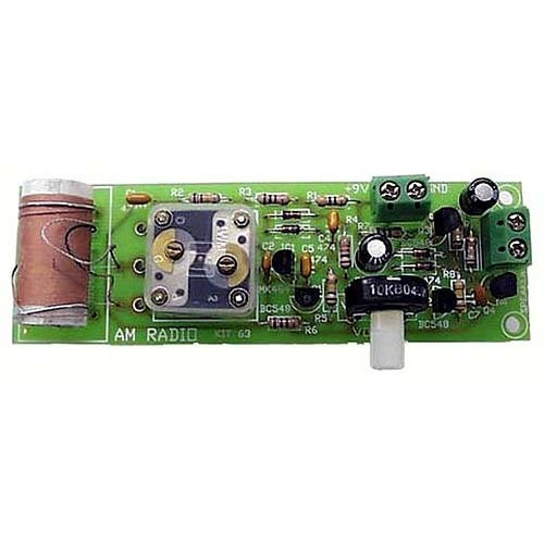 One Chip AM Radio Kit – Assembly Required