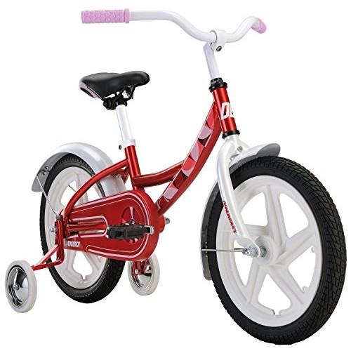 Diamondback Bicycles Girls Mini Impression Sidewalk Bike Cyan Red