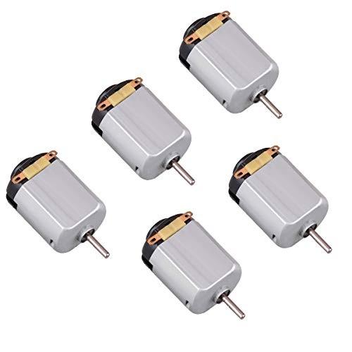 DC Motor – 5pcs 05-6V 15000 RPM Mini Electric High Torque Magnetic Powered