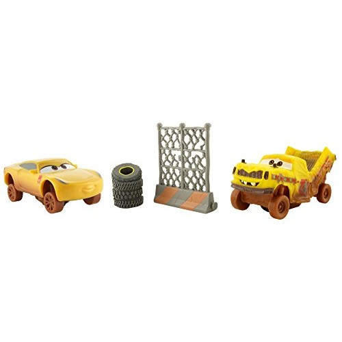 Disney Pixar Cars 3 Crazy 8 Crashers Taco & Cruz Ramirez Vehicle 2-Pack