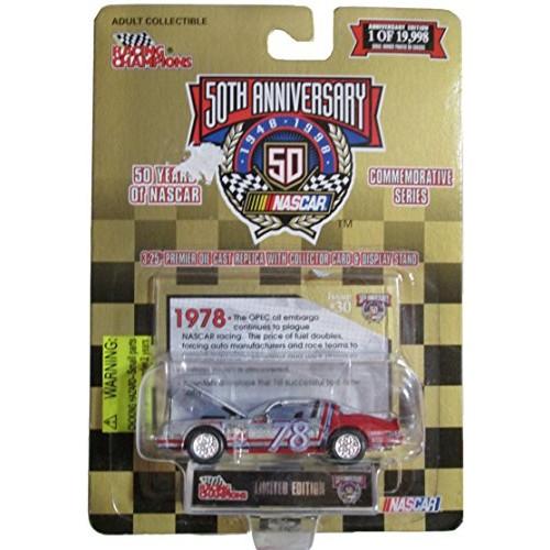 Racing Champions Nascar 50th Anniversary #78 Midnite Car – '78 Pontiac T/A – Issue