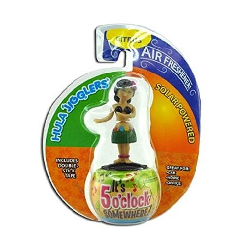 Diamond Visions Dancing Hula Girl Solar Jigglers Plastic 1 pk