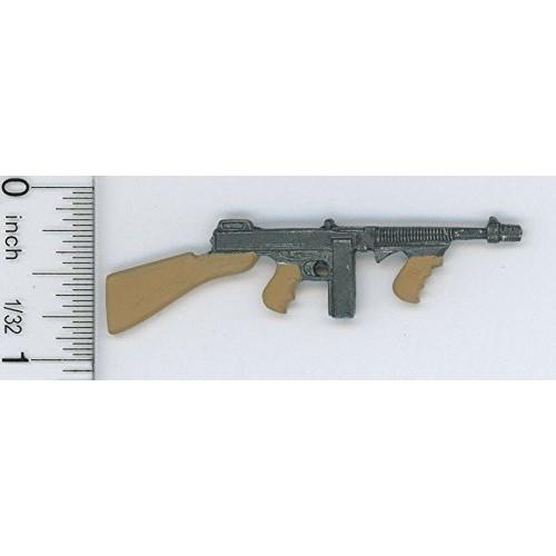 Dollhouse Miniature 1:12 Scale Thompson Submachine Gun (Toy)