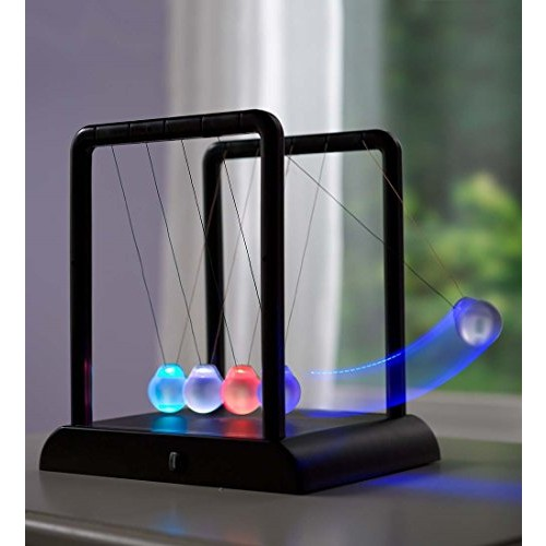 HearthSong LED Color-Changing Newton's Cradle