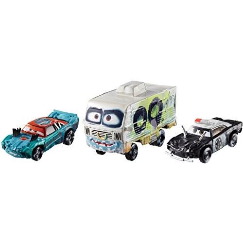 Disney/Pixar Cars 3 Die-Cast Vehicle 3 Pack #3 Vehicle 1:55 Scale