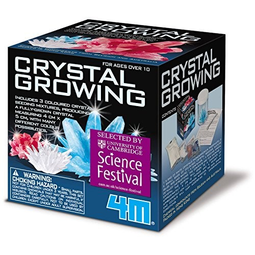 4M Crystal Growing Science Kit by GO-SCIENCE