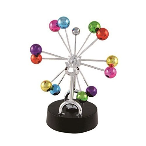 ScienceGeek Kinetic Art Universe – Electronic Perpetual Motion Desk Toy Home Decoration