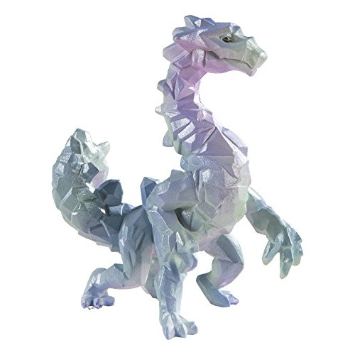 Safari Ltd – Crystal Cavern Dragon Realistic Hand Painted Toy Figurine Model Quality Construction from Safe and BPA Free Materials for Ages 3 Up