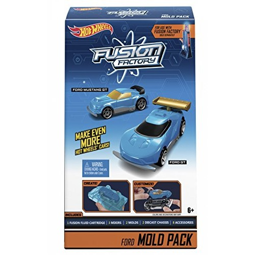 Hot Wheels Fusion Factory Ford Mold Pack