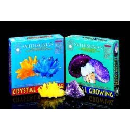Citrine and Aquamaring Crystal Growing Kit From The Smithsonian Institute by HobbyTroncom