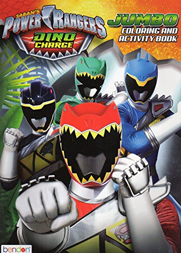 Power Rangers Dino Charge Jumbo Coloring & Activity Book – v2