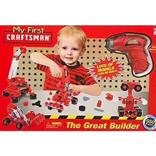 My First Craftsman Great Builder Set 550-Piece