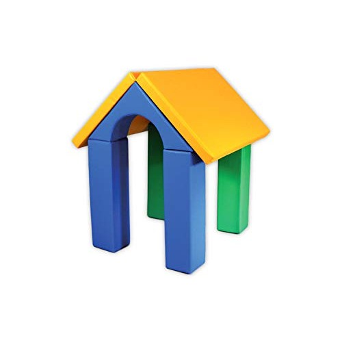xL Soft Play Forms IGLU Set 24 SoftzoneSoft Foam Building Blocks for Stacking Sorting and Kids
