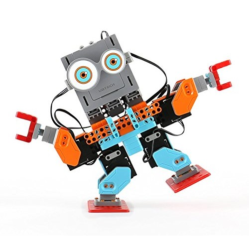 UBTECH JR0602 Jimu Robot BuzzBot & MuttBot – App Enabled STEM Learning Robotic Building Block Kit