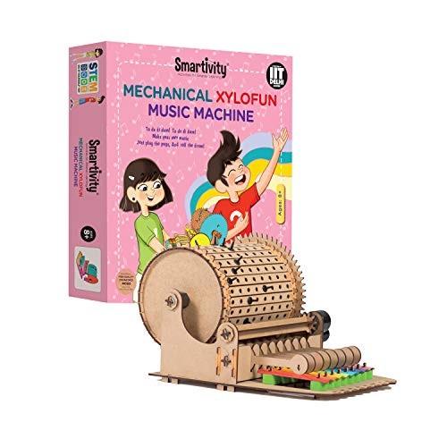 Smartivity Mechanical xylofun Music Fun STEM Educational DIY Toy Multi Colour