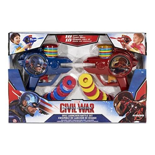 What Kids Want Avengers Civil War 2Pk Foam Disc Shooter Toy