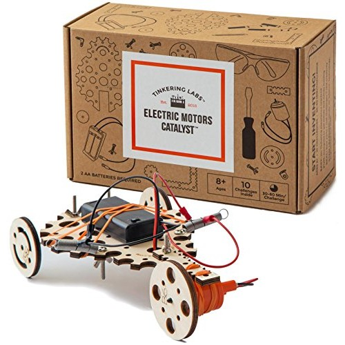 Tinkering Labs Electric Motors Catalyst Robotics Stem Kit for Kids Age 8-12