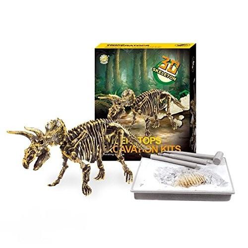 Redtail Dinosaur Excavations Kits – Unearth 3D Bones Triceratops