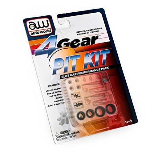 4-Gear Slot Car Pit Kit