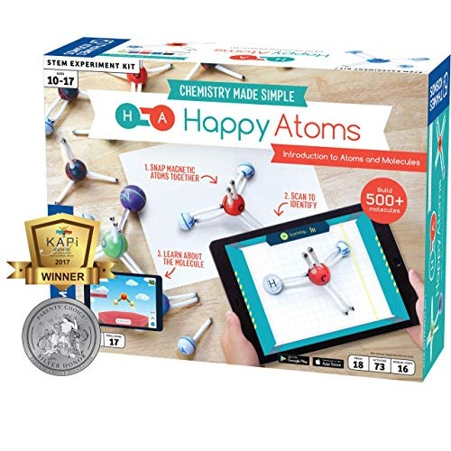 Happy Atoms Magnetic Molecular Modeling Introductory Set Intro To Molecules Bonding Chemistry Create 508 73 Activities Plus Free Educational App For Ios Android Kindle