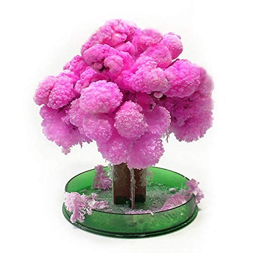 HYxJ Crystal Growing Tree Magic Cherry Presents Novelty Kit for Kids Funny Educational Gifts and Party Toys