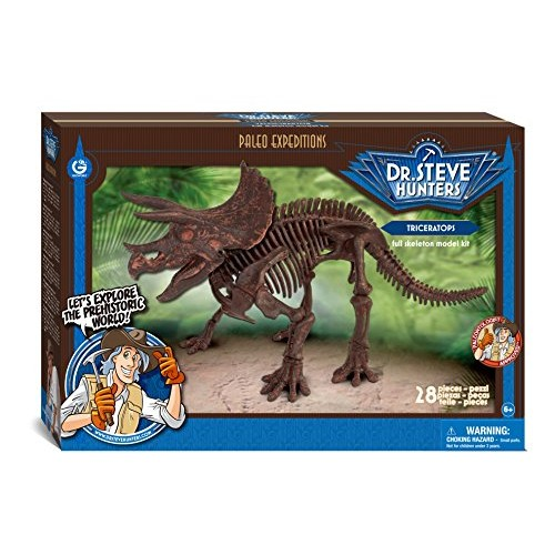 Geoworld Paleo Expeditions Triceratops Toy