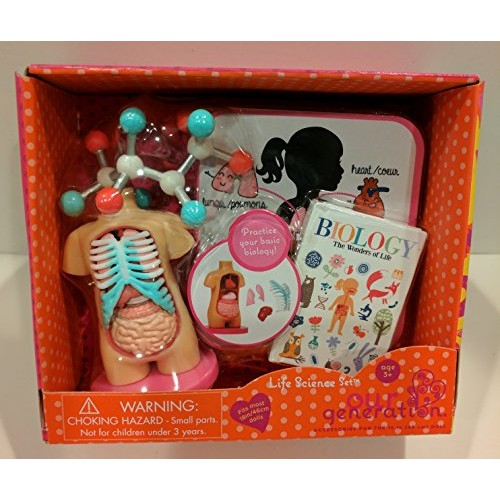Our Generation Life Science 18 Doll Accessories Biology Anatomy Model