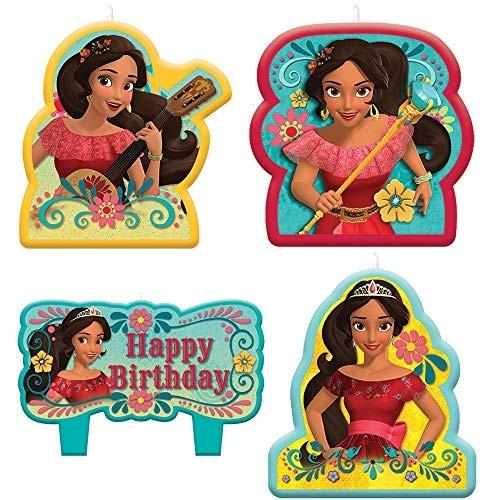 amscan Candle Set Disney Elena of Avalor Collection Birthday
