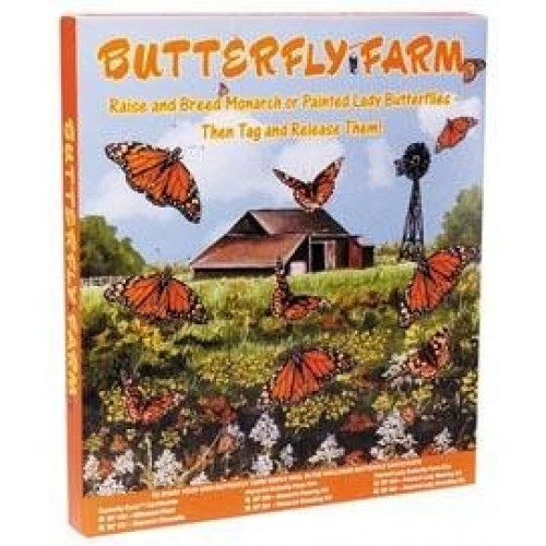 Educational Science Monarch Butterfly Growing kit with Mail-in Live Material Certificate MGK200