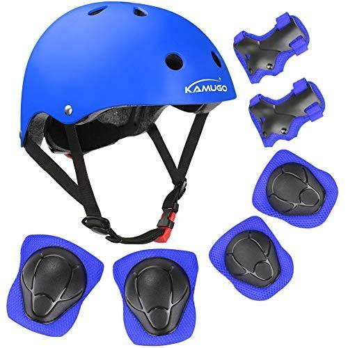 KAMUGO Kids Bike Helmet Toddler Helmet for Ages 3-8 with Sports Protective