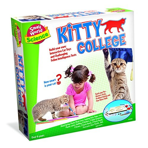 Small World Toys Science – Kitty College Kit