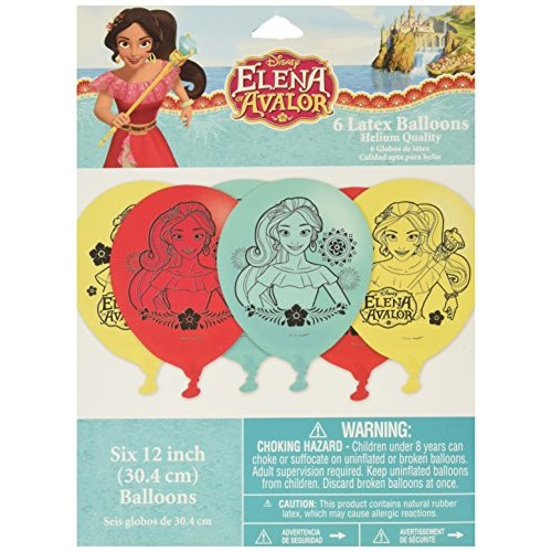 Latex Balloons Disney Elena of Avalor Collection Party Accessory