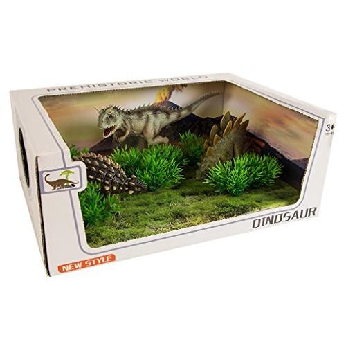 Prehistoric World Dinosaur Diorama Cretaceous