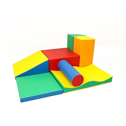 xxL Soft Play Forms IGLU Set 34xL Climbing and Crawling Blocks Activity Toys Playground for Kids
