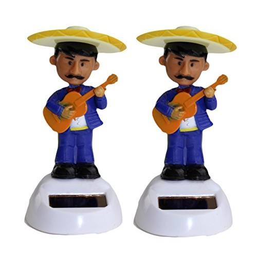 Solar Power – Mariachi Band Toy in Blue Suit 2 packs B11769