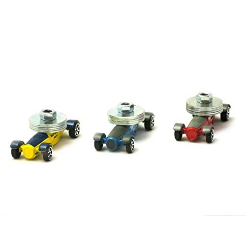BluTrack Physics Cars 3 pack