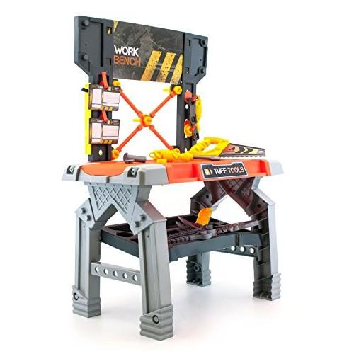 Lanard Tuff Tools Work Bench 30Pc Set Toy Tool