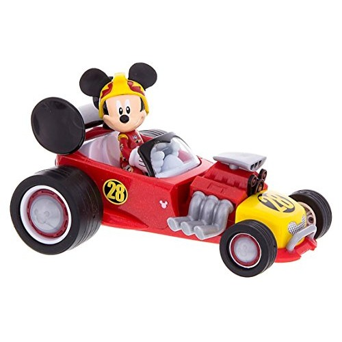Mickey Mouse Roadster Racer Wind Up Toy Car with Sounds