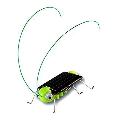 Solar Powered Grasshopper Children Learning Toy Power Frightened Kit – Educational