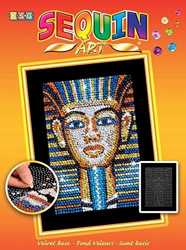 Sequin Art Orange King TUT Egyptian Tutankhamun Arts & Crafts Kits