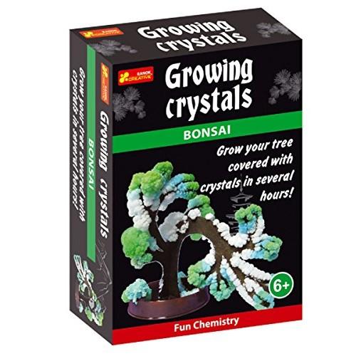 Ranok 12160043A Bonsai Growing Crystal Kit 10 x 14 4 cm Multi-Color