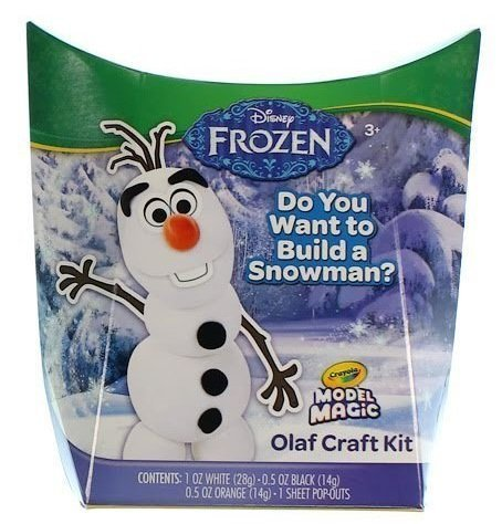 Crayola Disney Frozen Olaf Craft Kit Model Magic Toy