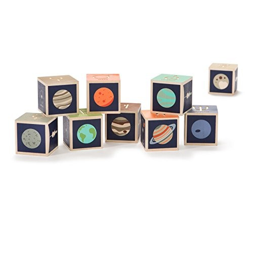 Uncle Goose Planet Blocks – Made in The USA