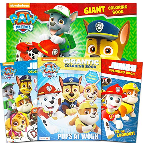 - Bendon Paw Patrol Coloring & Activity Book 96pg - Set Of 4 - Educational  Toys Planet