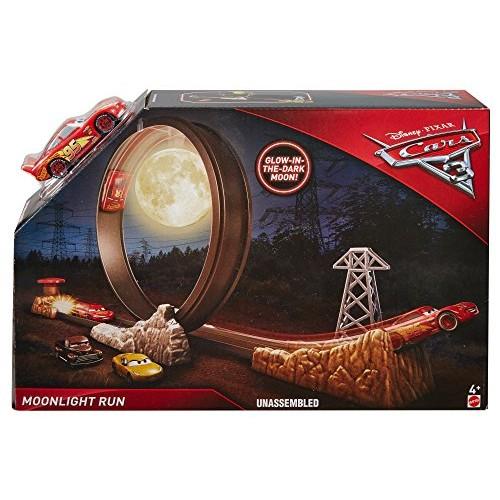 Disney Cars 3 Midnight Run Race Moon Loop Playset